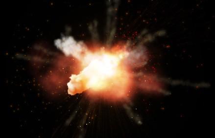 ps免抠透明素材 爆炸